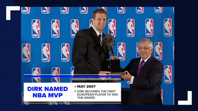 Dirk wins MVP