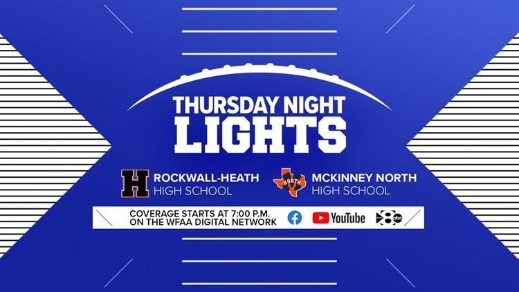 Thursday Night Lights: Rockwall-Heath vs. McKinney North