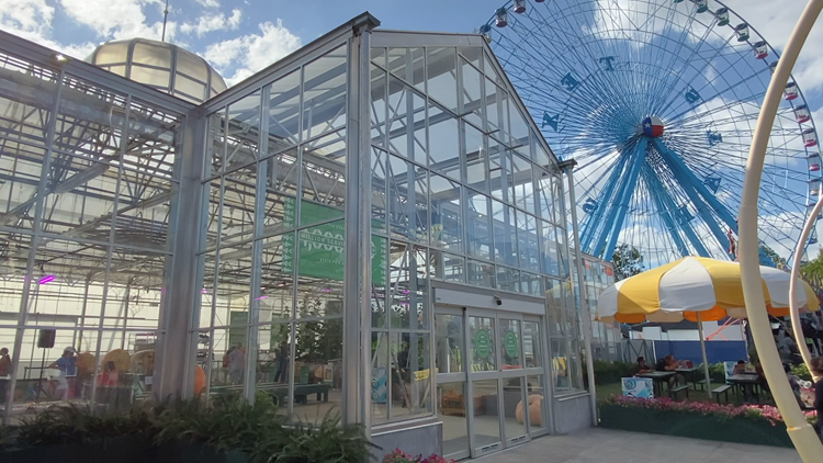 The State Fair greenhouse gives back to the community