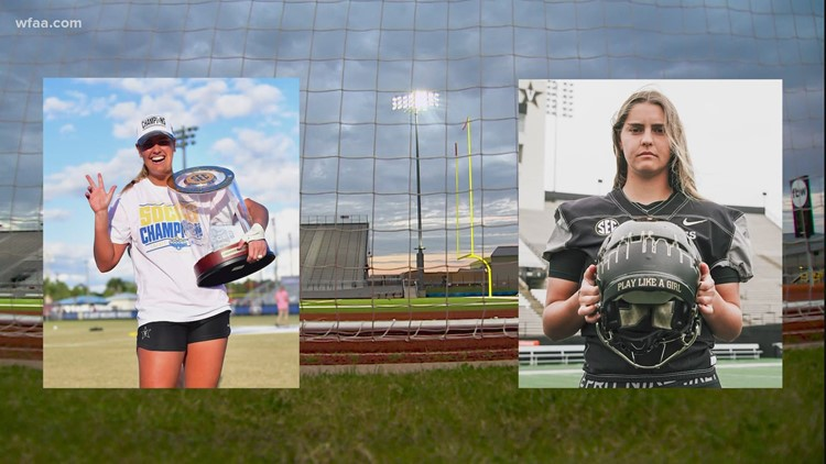 North Texas soccer player makes history as first woman to play in a Power 5 Conference football game