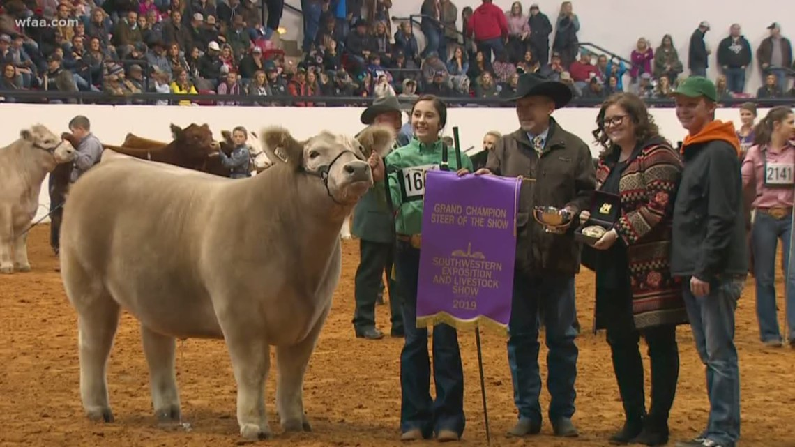 fort worth stock show names grand champion steer