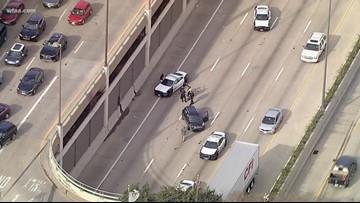 Officer injured when patrol car struck by vehicle in northeast Dallas
