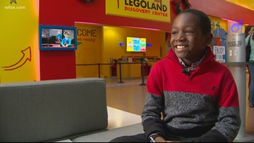 This week's Wednesday's Child, 10-year-old KJ, aims to go the distance in life