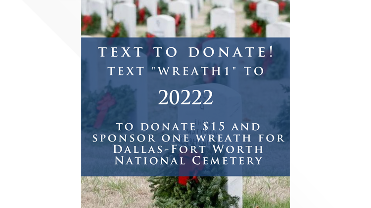 Wreaths Across America Text Donation