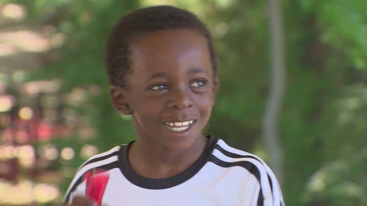 Wednesday's Child: 8-year-old Drelyn loves to sing and dance