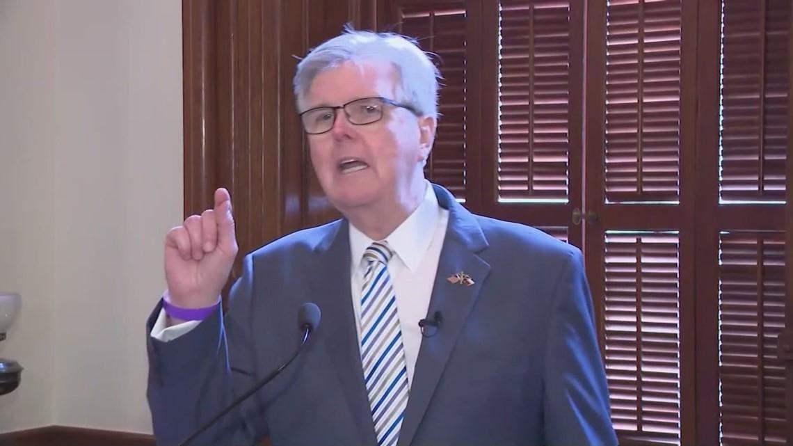 Critics call proposed Texas voting bills an 'attack on democracy'; Lt. Gov. Dan Patrick disagrees