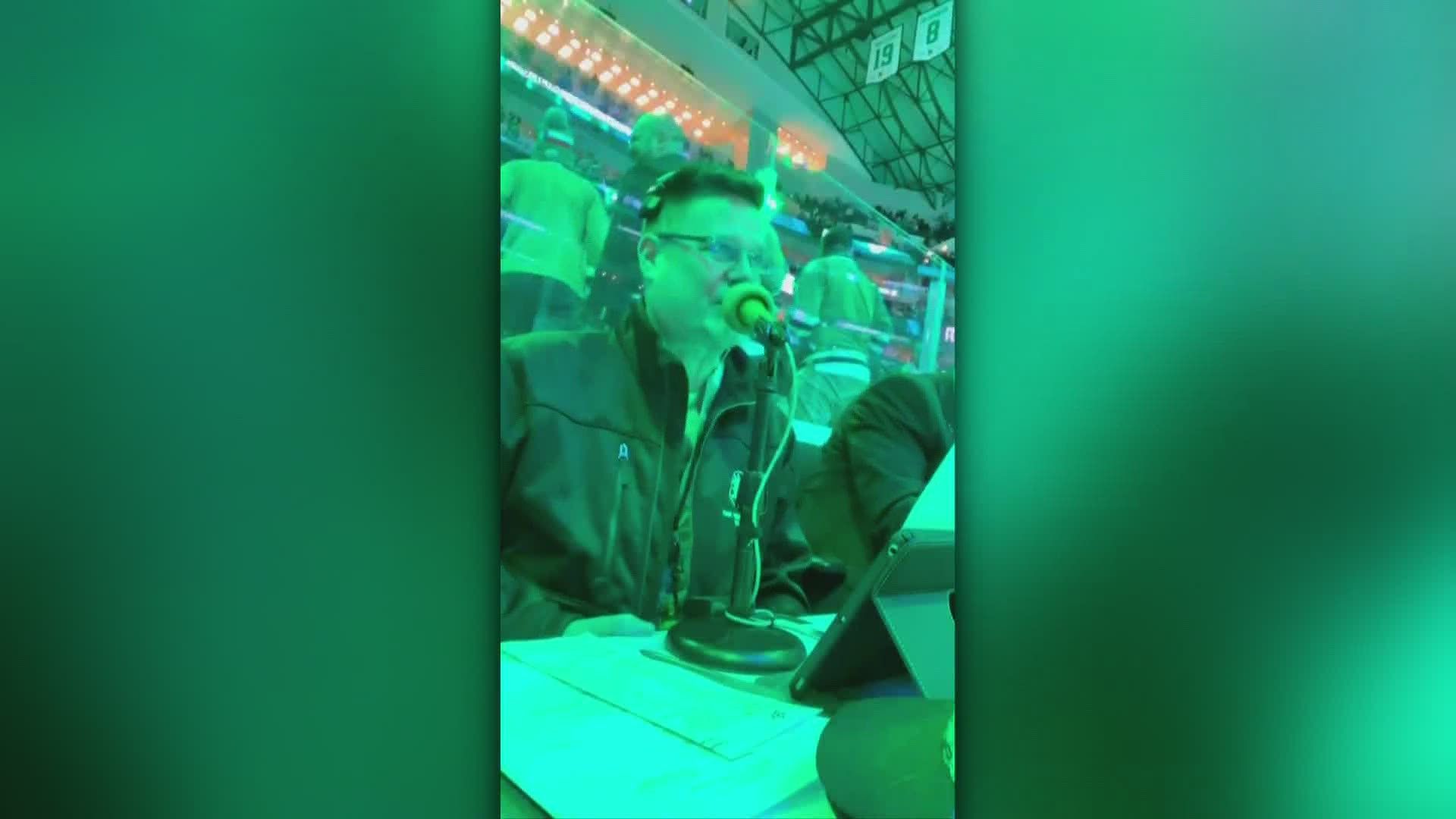Dallas Stars Announcer S Cameo Messages Score For Charity Wfaa Com