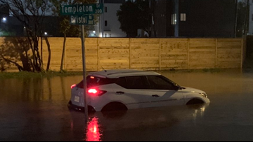 DFW weather: As heavy rain moves in, area firefighters respond to water rescue calls