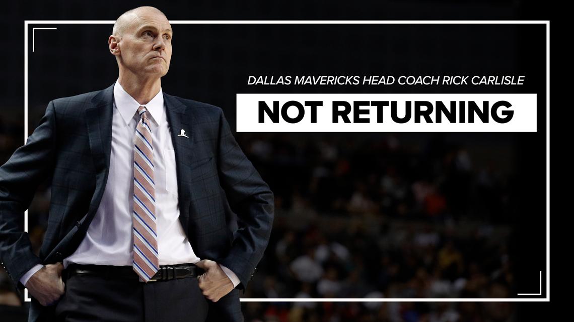 Rick Carlisle steps down as Mavs head coach