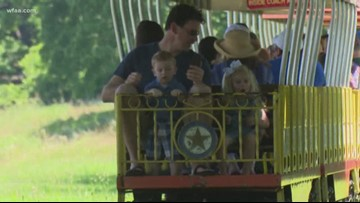 Forest Park Miniature Train celebrates 60th year of taking passengers through Fort Worth Parks