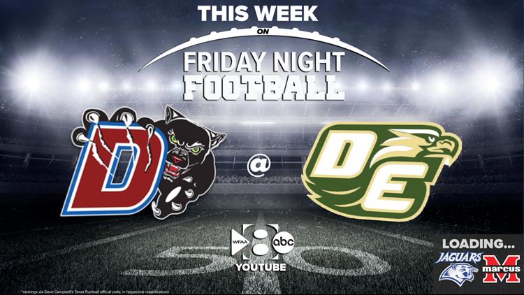 Friday Night Football: Duncanville at DeSoto