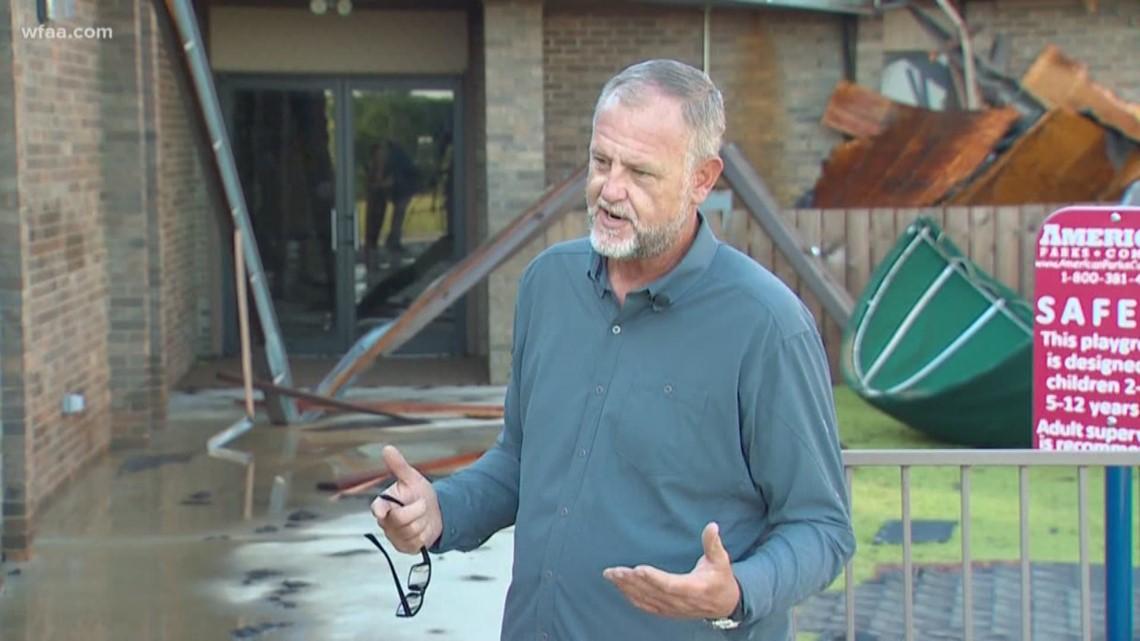 Destructive storm on Wednesday hits Hunt County