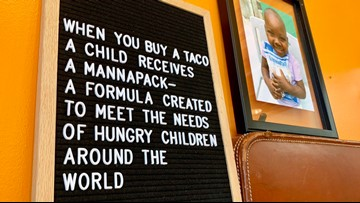 Taco-loving North Texas city donates over 220,000 meals to hungry kids
