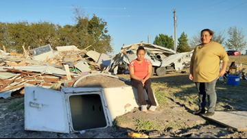 'A big part of my life...just destroyed': Farmersville family's home ruined in storm