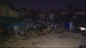Dallas couple loses home and business in Sunday's tornado