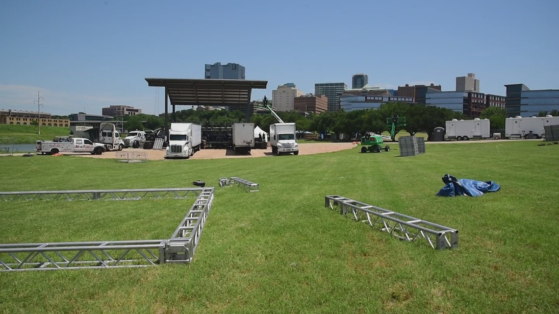 Intense heat this weekend; Fort Worth's MedStar will be on standby for Panther Pavilion concerts