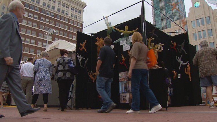 Look closer...there's more to the story of Fort Worth's Main Street Arts Festival