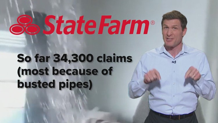 State Farm adjusters go virtual as more than 34,000 claims roll in for Texas winter storm