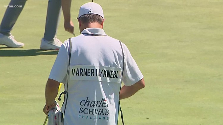Colonial honors healthcare workers with names on caddies' bibs