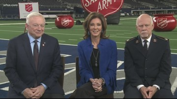 Jerry Jones, Cowboys and Salvation Army team up for a good cause