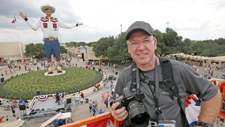 State Fair of Texas Photographer Kevin Brown