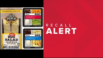 FDA: Two more companies recall products containing eggs that may be contaminated with listeria