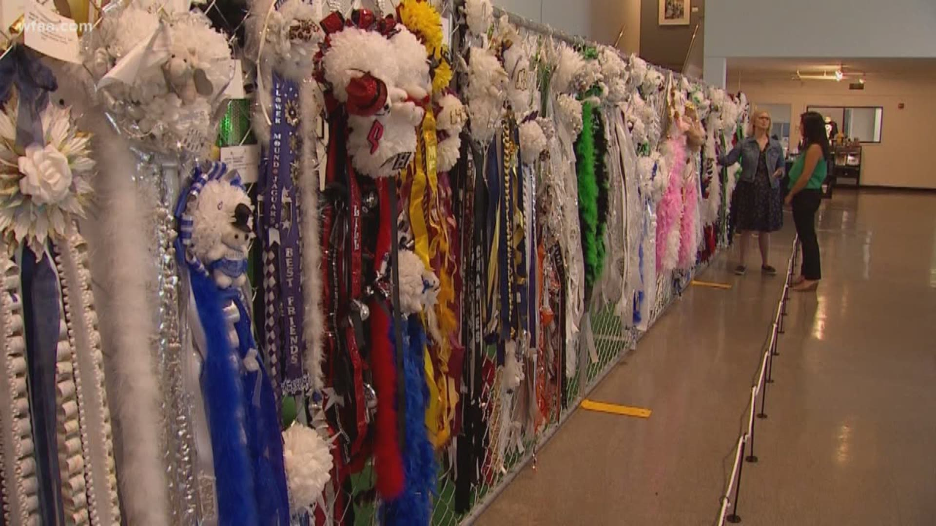 New Homecoming Mum Exhibit At Arlington Museum Explains History Of