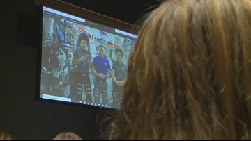 The sky is not the limit: Fort Worth students get rare chance to talk to astronauts in space