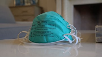 Many D-FW hospital workers forced to re-use masks to treat COVID-19 patients