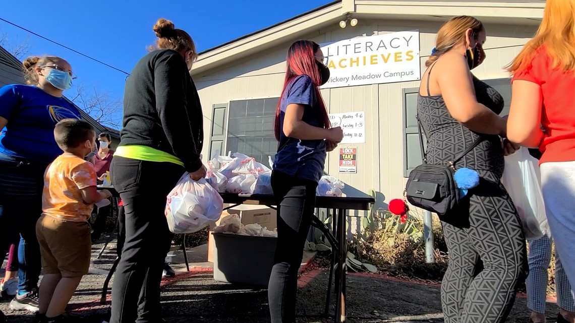 Vickery Meadow grassroots effort helps 1,200 families impacted by winter storms
