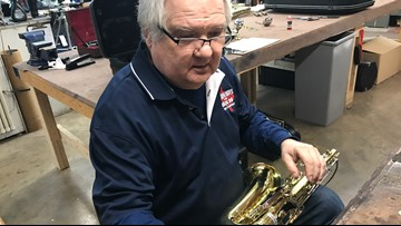 Meet the Dallas instrument repairman who wants everyone to be able to play music