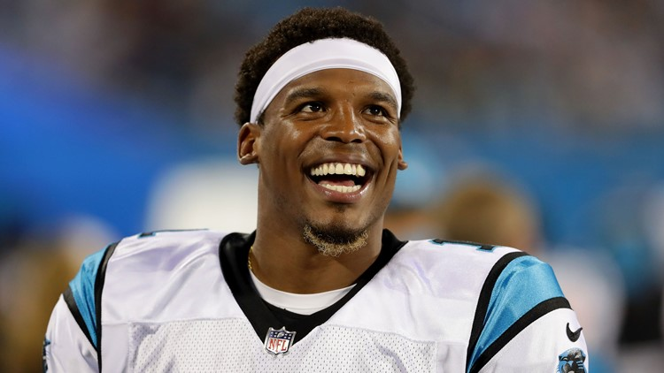 classic fit 6464b 33e2f Panthers' Cam Newton: 'It's funny' hearing female reporter ...