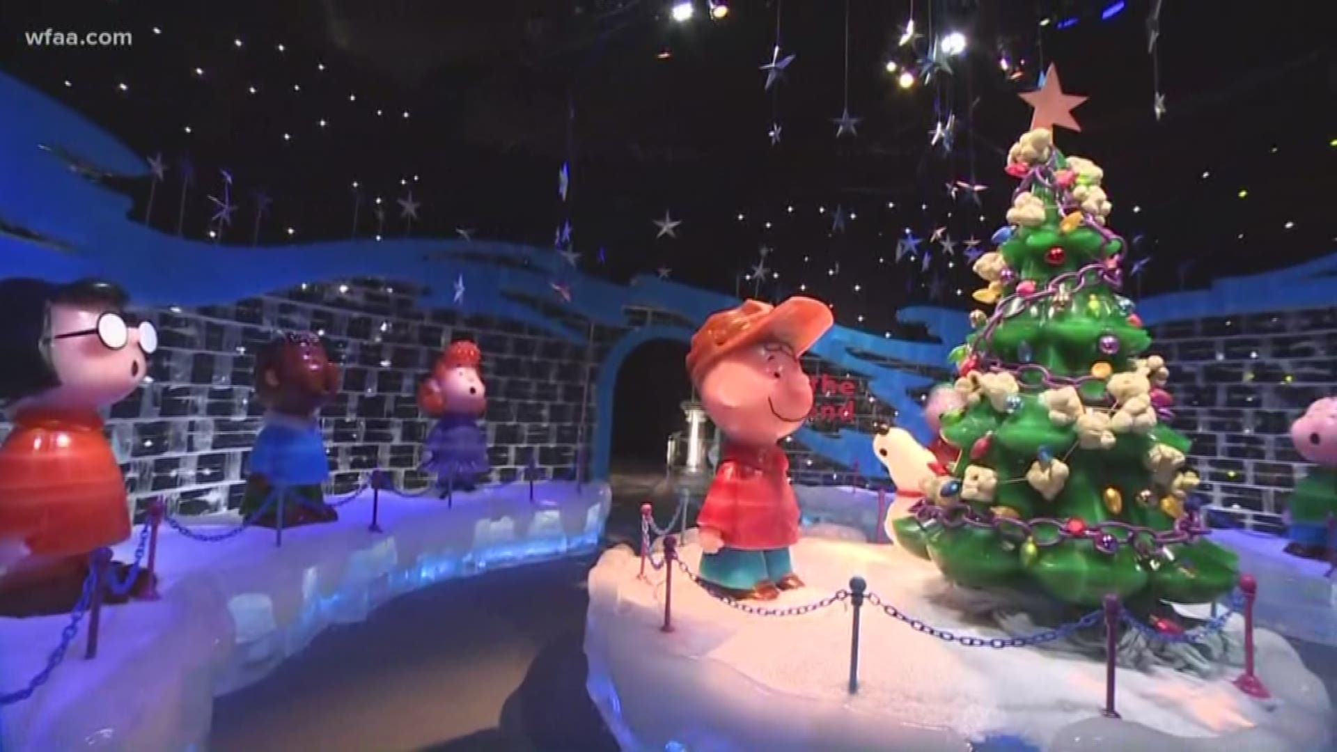 See Inside Ice Featuring A Charlie Brown Christmas At Gaylord