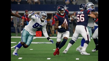 Cowboys DE Taco Charlton lives up to billing in 34-0 win over Texans