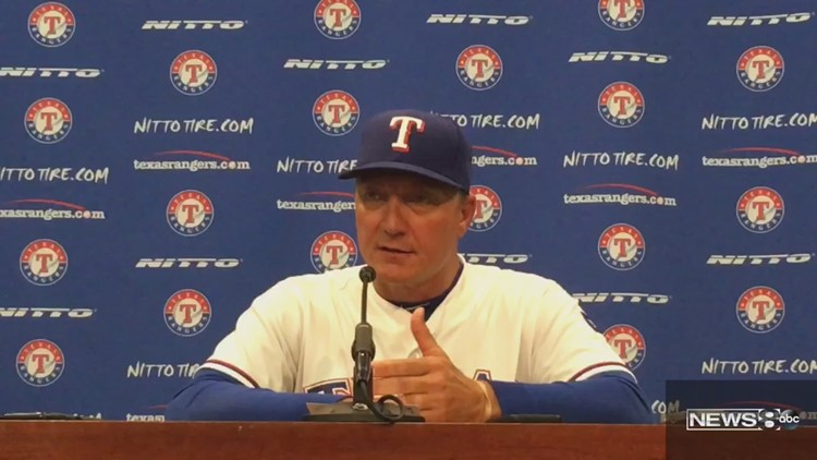 a783ee666e3 We are all tinkerers. Rangers beat Brewers 6-4
