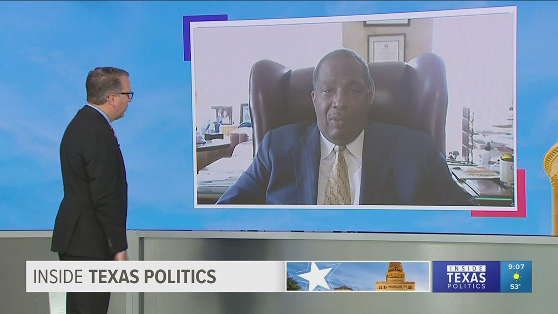 Texas Sen. Royce West explains why he thinks the national anthem should be required