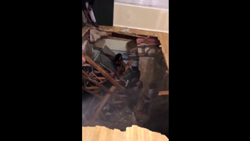 Apartment floor collapses during student party in Denton | wfaa com