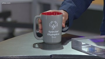 What's up with Greg's cup? Special Olympics Texas