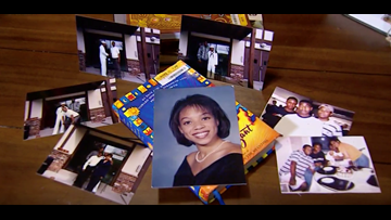 11-year-old searching for family in photos she found in used book