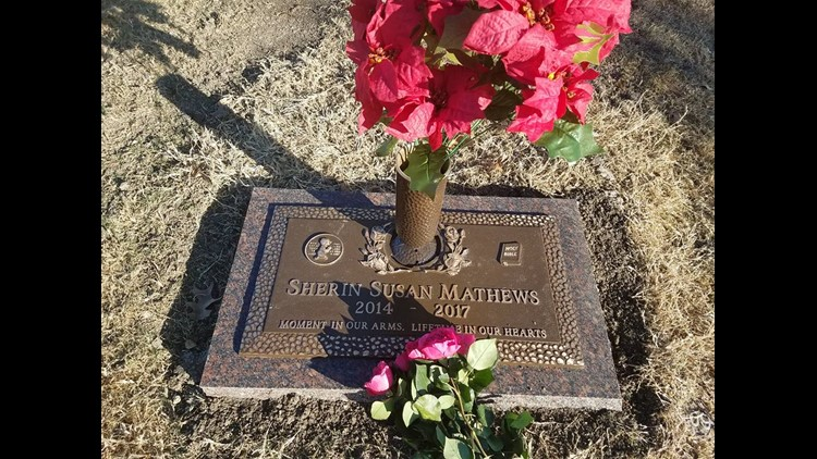 Sherin Mathews' gravesite released: 'Moment in our arms, lifetime in our hearts'