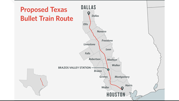 Texas Central enters new agreement for high-speed rail project
