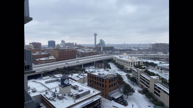 Snowscapes gallery: Views outside your window Sunday in North Texas
