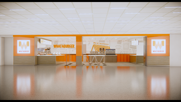DFW International Airport gets its first Whataburger