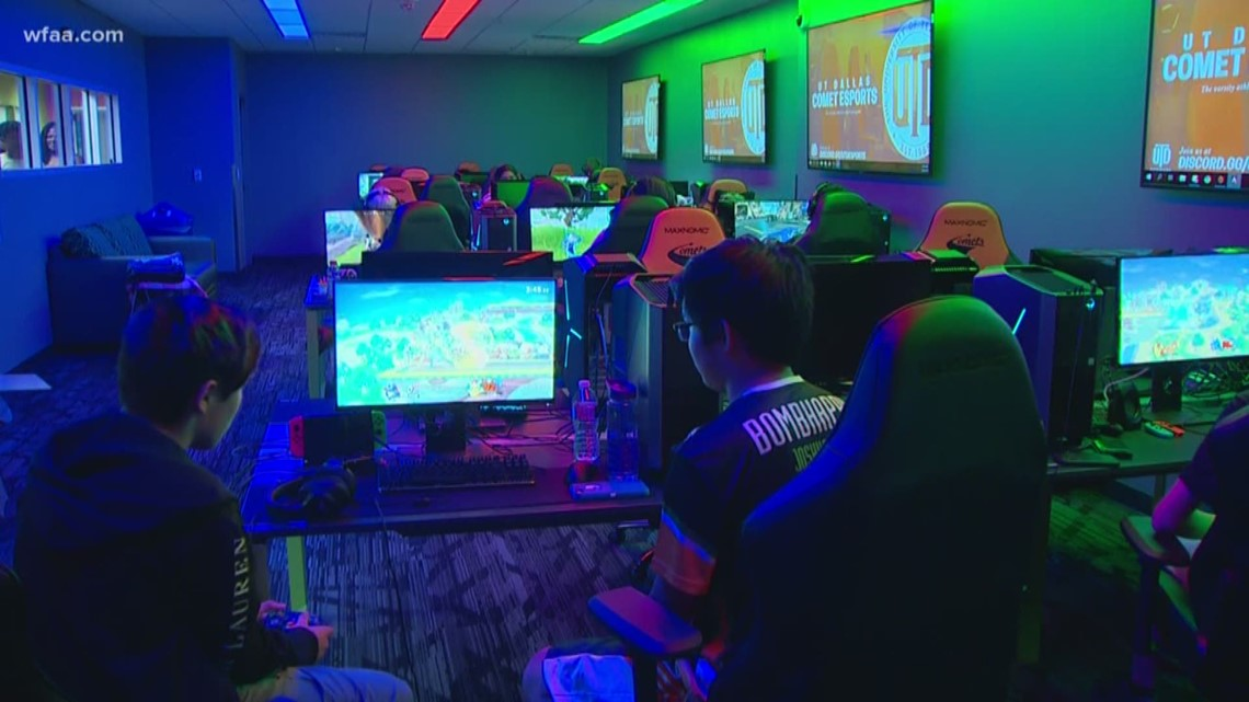 Interested in a career playing video games? UT Dallas hosts eSports summer camp