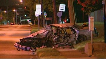 Critically-injured woman has died after crash caused by impaired