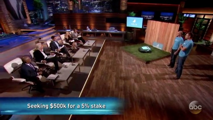 Bart Lomont and Justin Crandall appear on ABC's Shark Tank in November