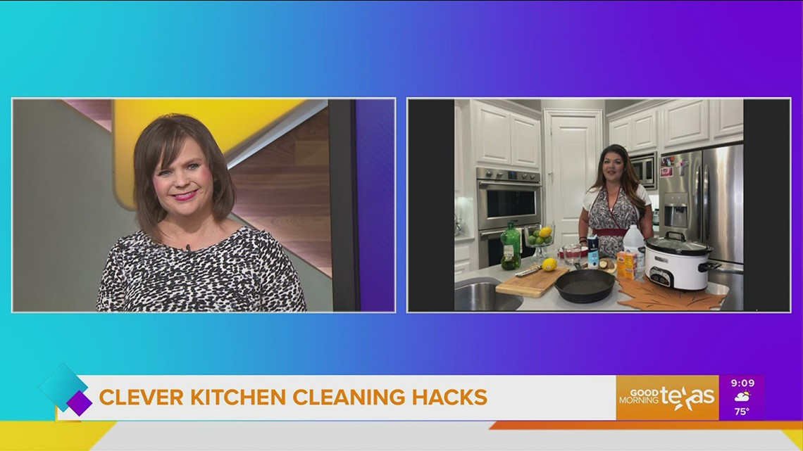 Time and money saving kitchen cleaning hacks