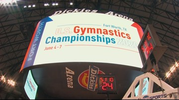 The road to Tokyo 2020 goes through Fort Worth for Olympic gymnasts