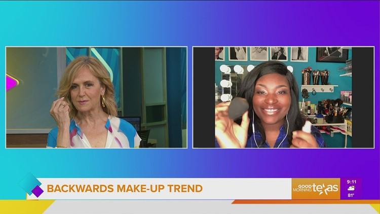 New Backwards Makeup Trend