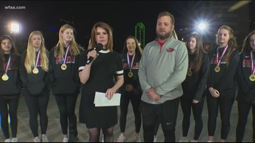 Argyle Lady Eagle basketball team claims fifth state title